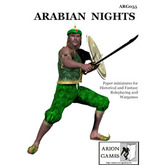 Paper Miniatures: Arabian Nights