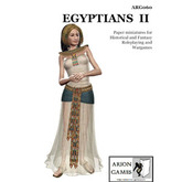 Paper Miniatures: Egyptians II