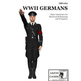 Paper Miniatures: WWII Germans