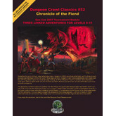 Dungeon Crawl Classics #52: Chronicle of the Fiend