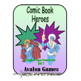 Comic Book Heroes Set 1, Mini-Game #25