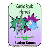 Comic Book Heroes, Set 2, Mini-Game #28