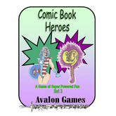 Comic Book Heroes, Set 3, Mini-Game #31