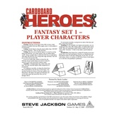 Cardboard Heroes: Fantasy Set 01 - Player Characters