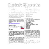 Firebeetle's Quick Sheets