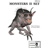 Paper Miniatures: Monsters II