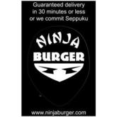 Ninja Burger: Guaranteed Delivery Poster