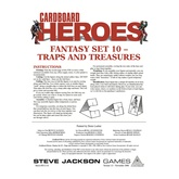 Cardboard Heroes: Fantasy Set 10 - Traps and Treasures