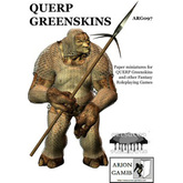 Paper Miniatures: QUERP Greenskins Set