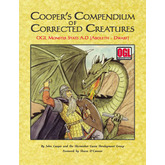 Cooper's Compendium of Corrected Creatures: OGL Monster Stats A – D