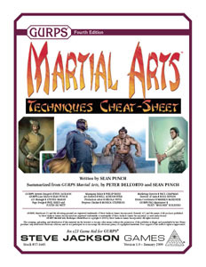 Gurps Martial Arts Pdf