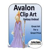 Avalon Clip Art, Fantasy Undead