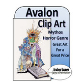 Avalon Clip Art, Mythos Horror Genre