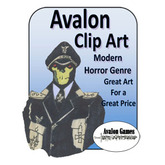 Avalon Clip Art, Modern Horror Genre