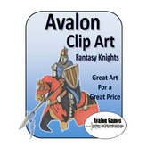 Avalon Clip Art, Fantasy Knights