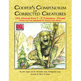 Cooper's Compendium of Corrected Creatures: OGL Monster Stats T – Z