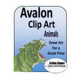 Avalon Clip Art, Animals