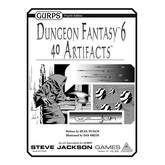 GURPS Dungeon Fantasy 6: 40 Artifacts