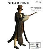 Paper Miniatures: Steampunk Set
