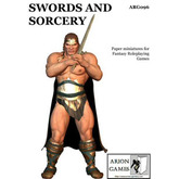 Paper Miniatures: Swords and Sorcery Set