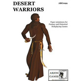 Paper Miniatures: Desert Warriors Set