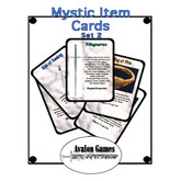 Mystic Item Cards, Set 2