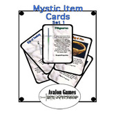 Mystic Item Cards, Set 4