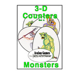 3-D Counter Sets, Set 09