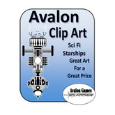 Avalon Clip Art, Starships