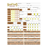 The Noble Wild Character Sheets (Pathfinder Edition)