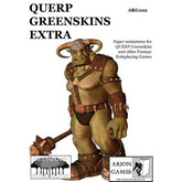 Paper Miniatures: QUERP Greenskins Extra Set
