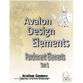 Avalon Design Elements Parchment Set #1