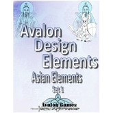Avalon Design Elements Asian Set #1