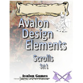 Avalon Design Elements Scrolls Set #1