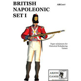 Paper Miniatures: British Napoleonic Set I