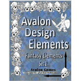 Avalon Design Elements Fantasy Elements #2
