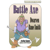 Battle Axe, Dwarf Rune Smith