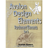 Avalon Design Elements Parchment Elements #3