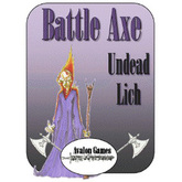 Battle Axe, Undead Lich