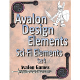 Avalon Design Elements Sci-Fi Set #4