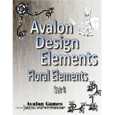 Avalon Design Elements Floral Elements #4