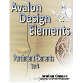 Avalon Design Elements Parchment Elements #4