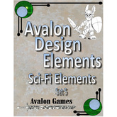 Avalon Design Elements Sci-Fi Elements #5