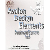 Avalon Design Elements Parchment Elements #5