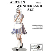Paper Miniatures: Alice in Wonderland Set