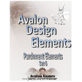 Avalon Design Elements Parchment Elements #6