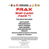 Federation Commander: Frax Ship Card Pack #1