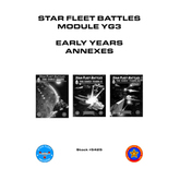 Star Fleet Battles: Module YG3 - Early Years Annexes