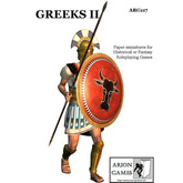 Paper Miniatures: Greeks II