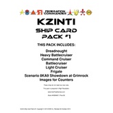 Federation Commander: Kzinti Ship Card Pack #1